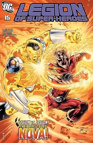 Legion of Super-Heroes (2010-2011) No.15