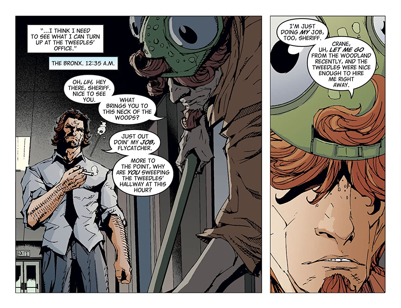 Fables: The Wolf Among Us #25