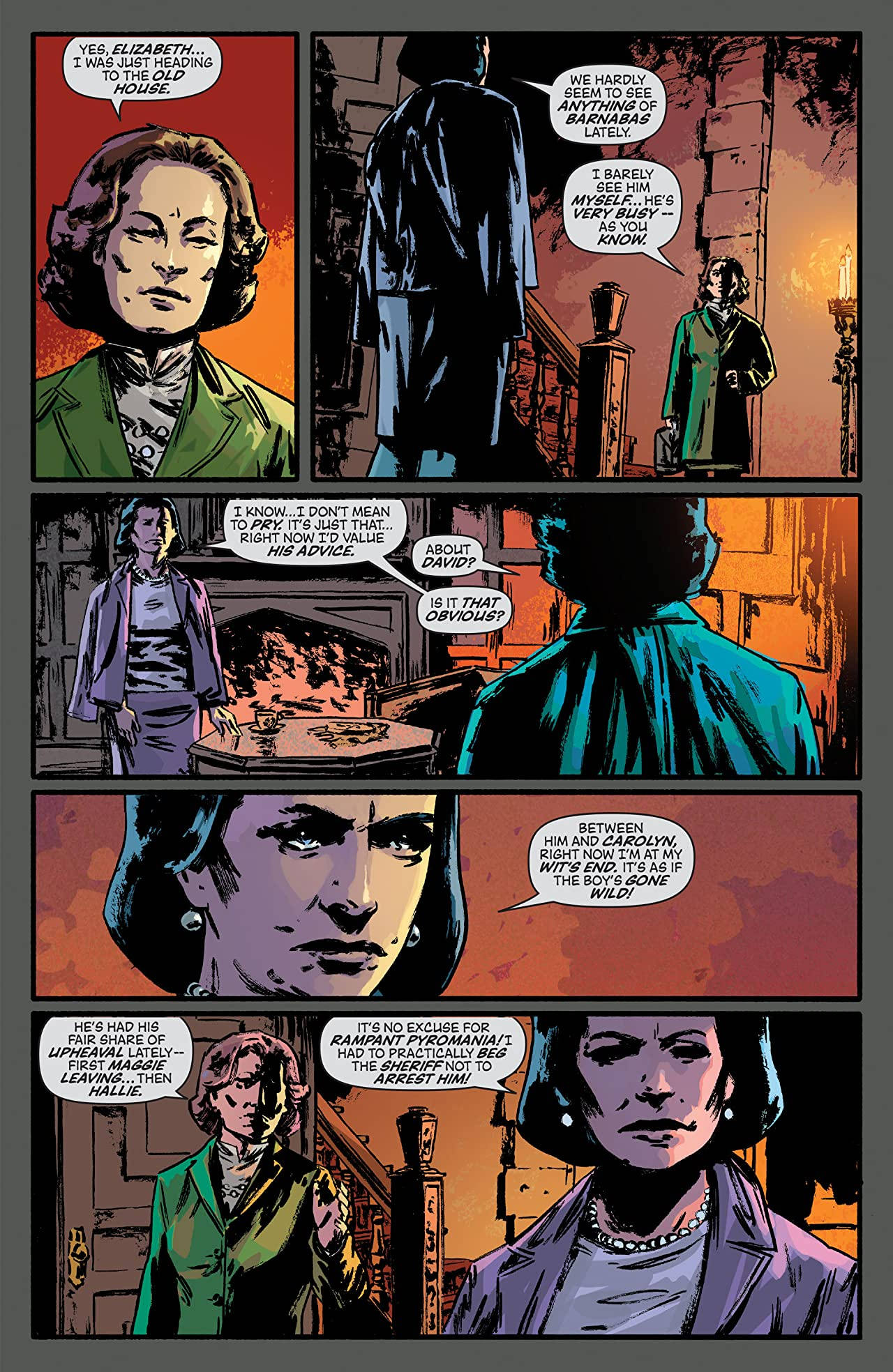 Dark Shadows (Ongoing) Tome 1