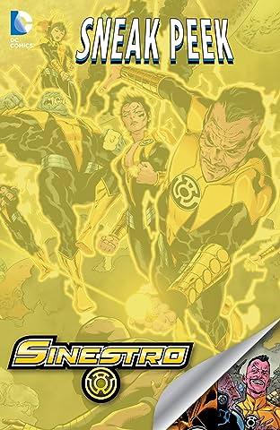 DC Sneak Peek: Sinestro (2014-) #1