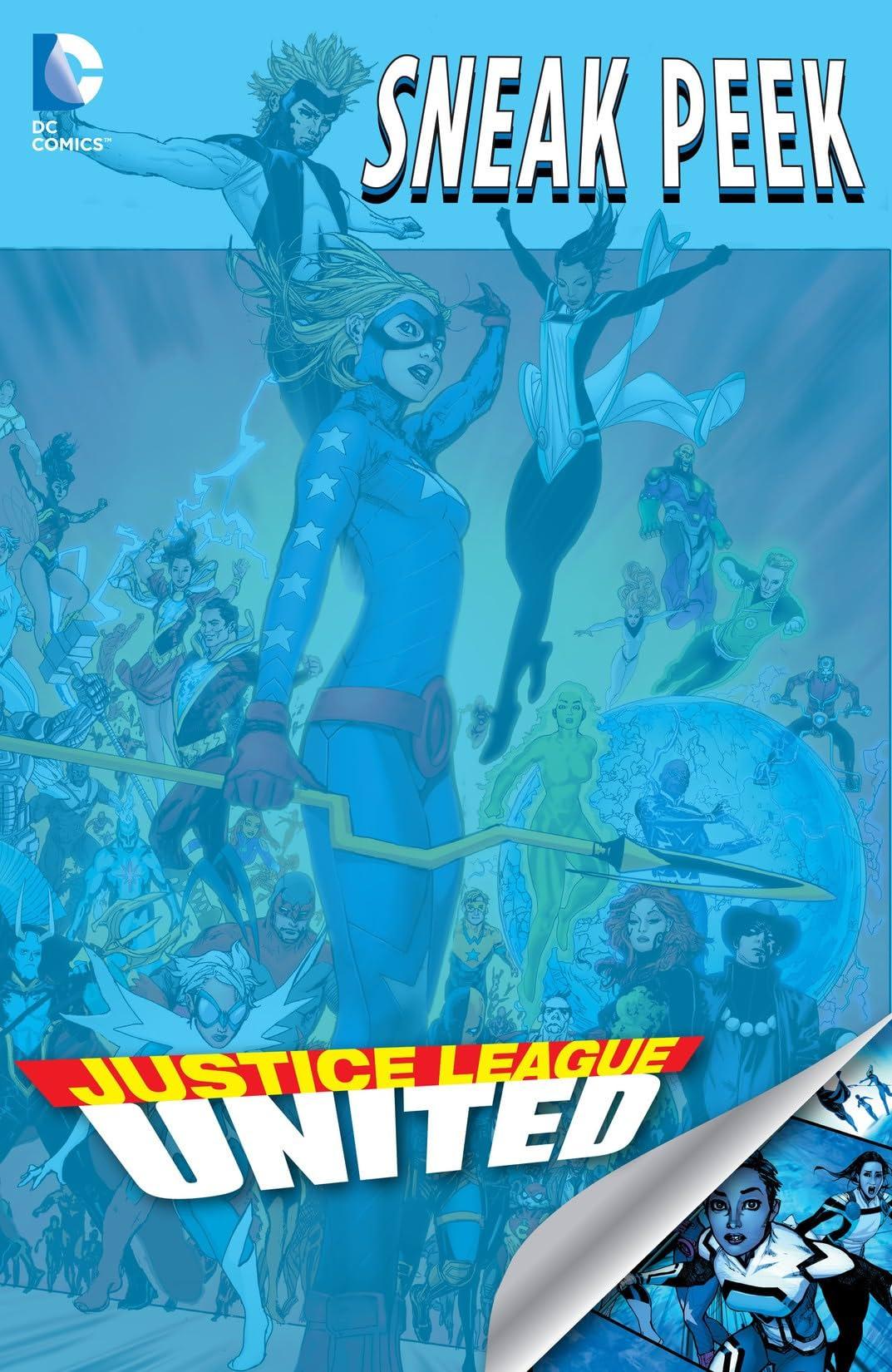Justice League United (2014-2015): Sneak Peek #1