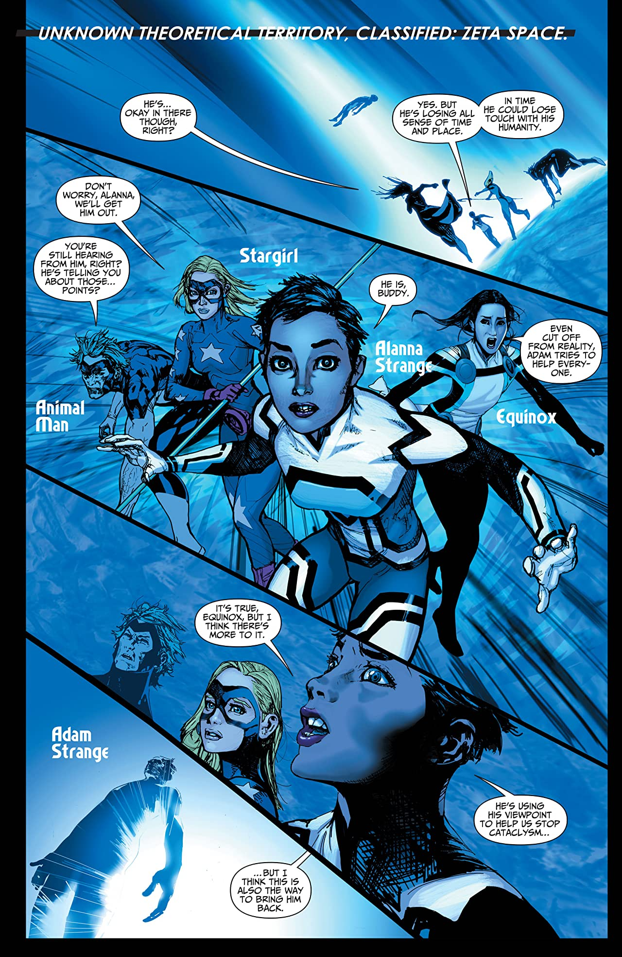 Justice League United (2014-2015): Sneak Peek #1