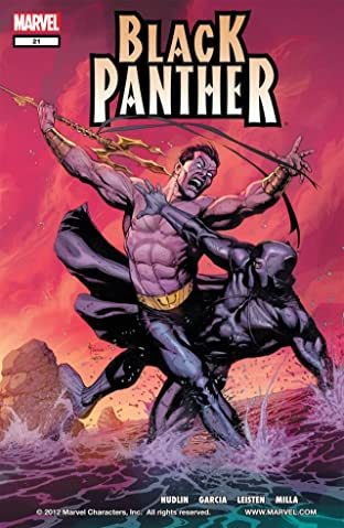 Black Panther (2005-2008) No.21