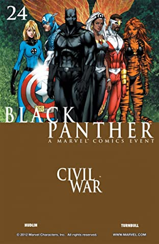 Black Panther (2005-2008) No.24