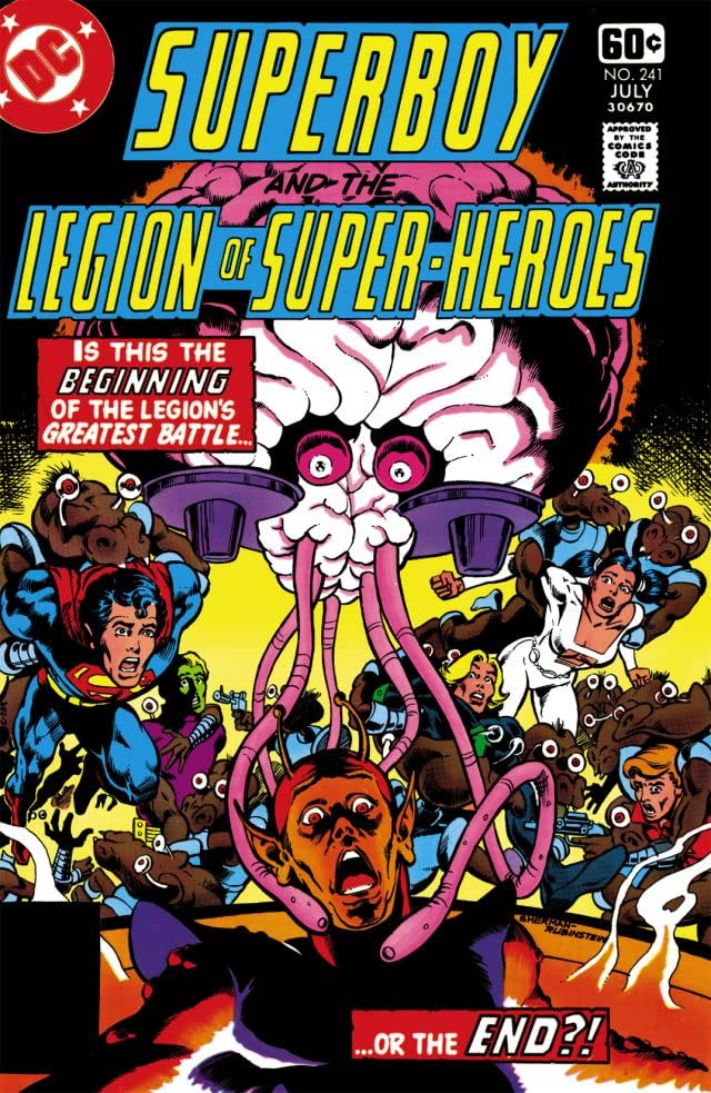 Superboy and the Legion of Super-Heroes (1949-1979) #241