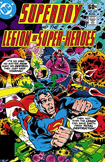 Superboy and the Legion of Super-Heroes (1949-1979) #242