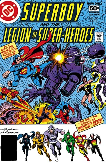 Superboy and the Legion of Super-Heroes (1949-1979) #243