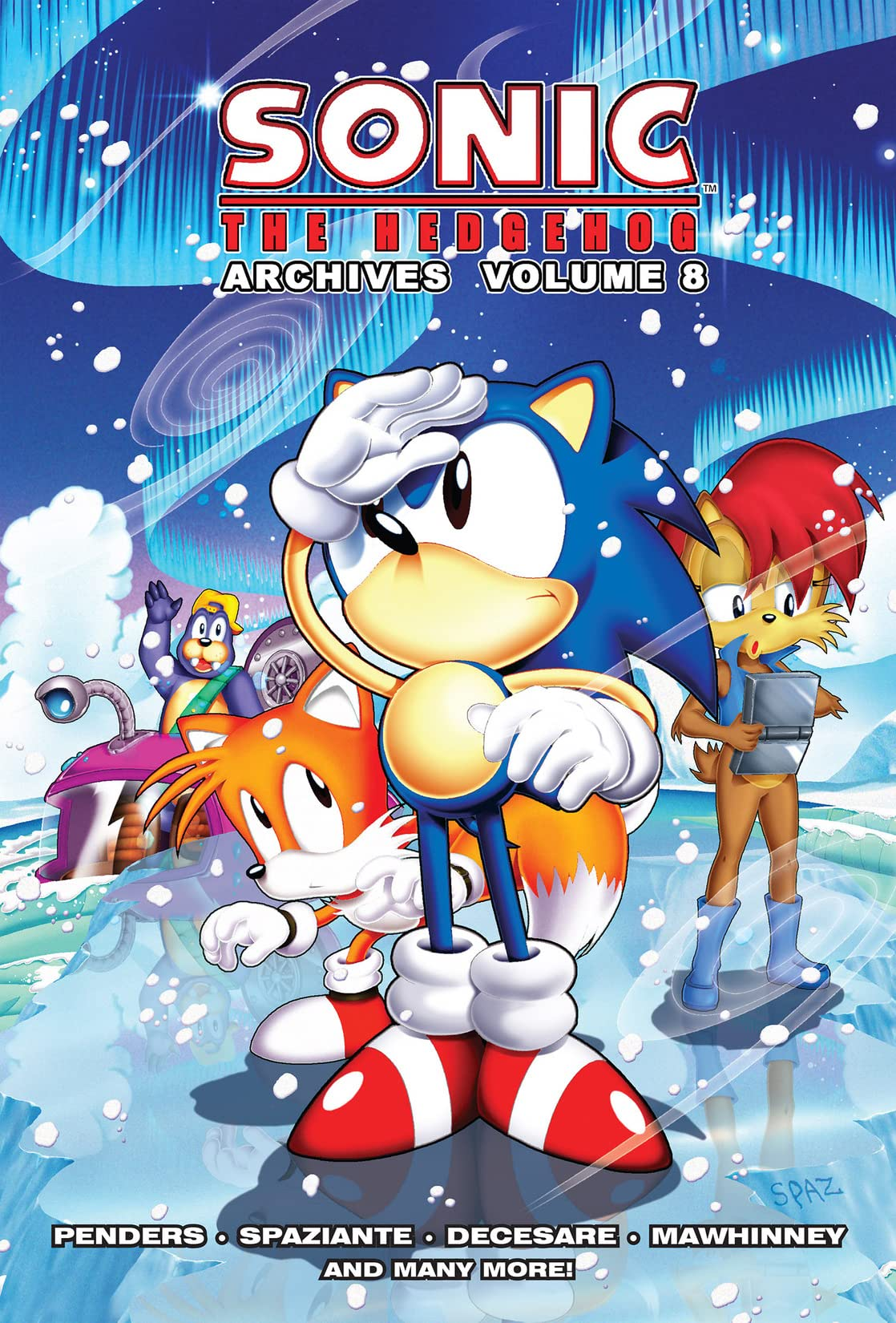 Sonic the Hedgehog Archives Vol. 8