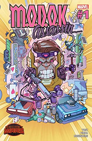 M.O.D.O.K. Assassin (2015) No.1 (sur 5)