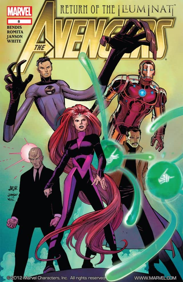Avengers (2010-2012) #8