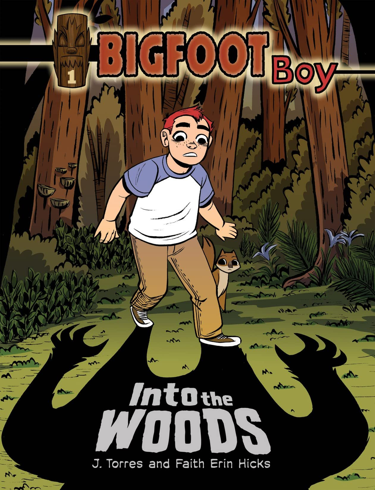 Bigfoot Boy Vol. 1: Into the Woods