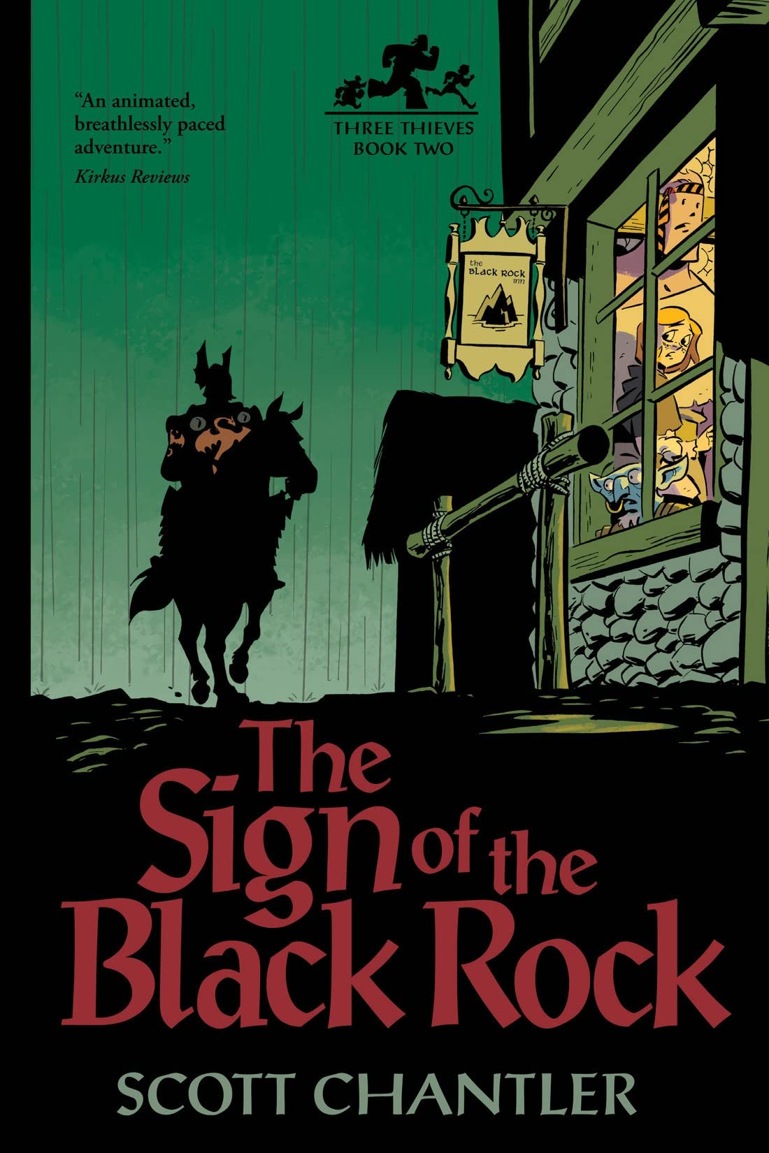 Three Thieves Vol. 2: The Sign of the Black Rock