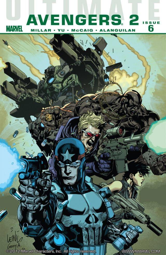 Ultimate Comics Avengers 2 #6