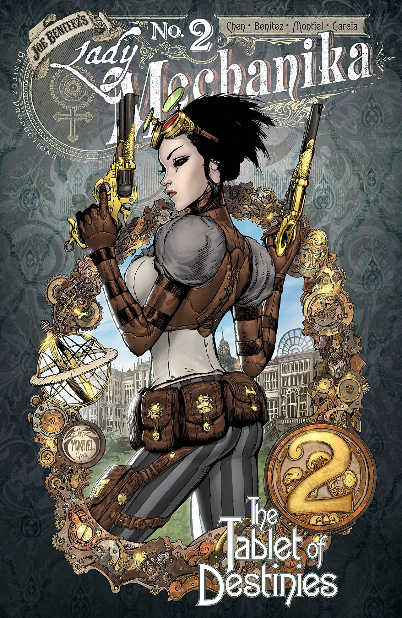Lady Mechanika: The Tablet of Destinies #2