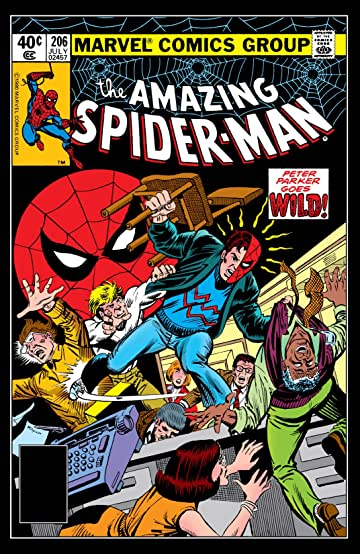 Amazing Spider-Man (1963-1998) #206