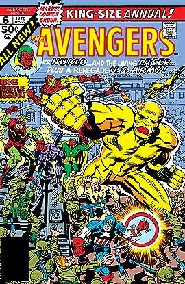 Avengers (1963-1996) Annual #6