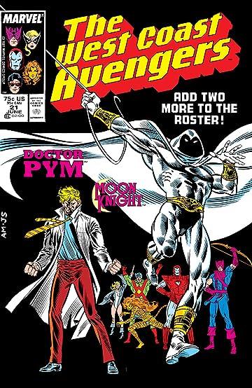 Avengers West Coast (1985-1994) #21