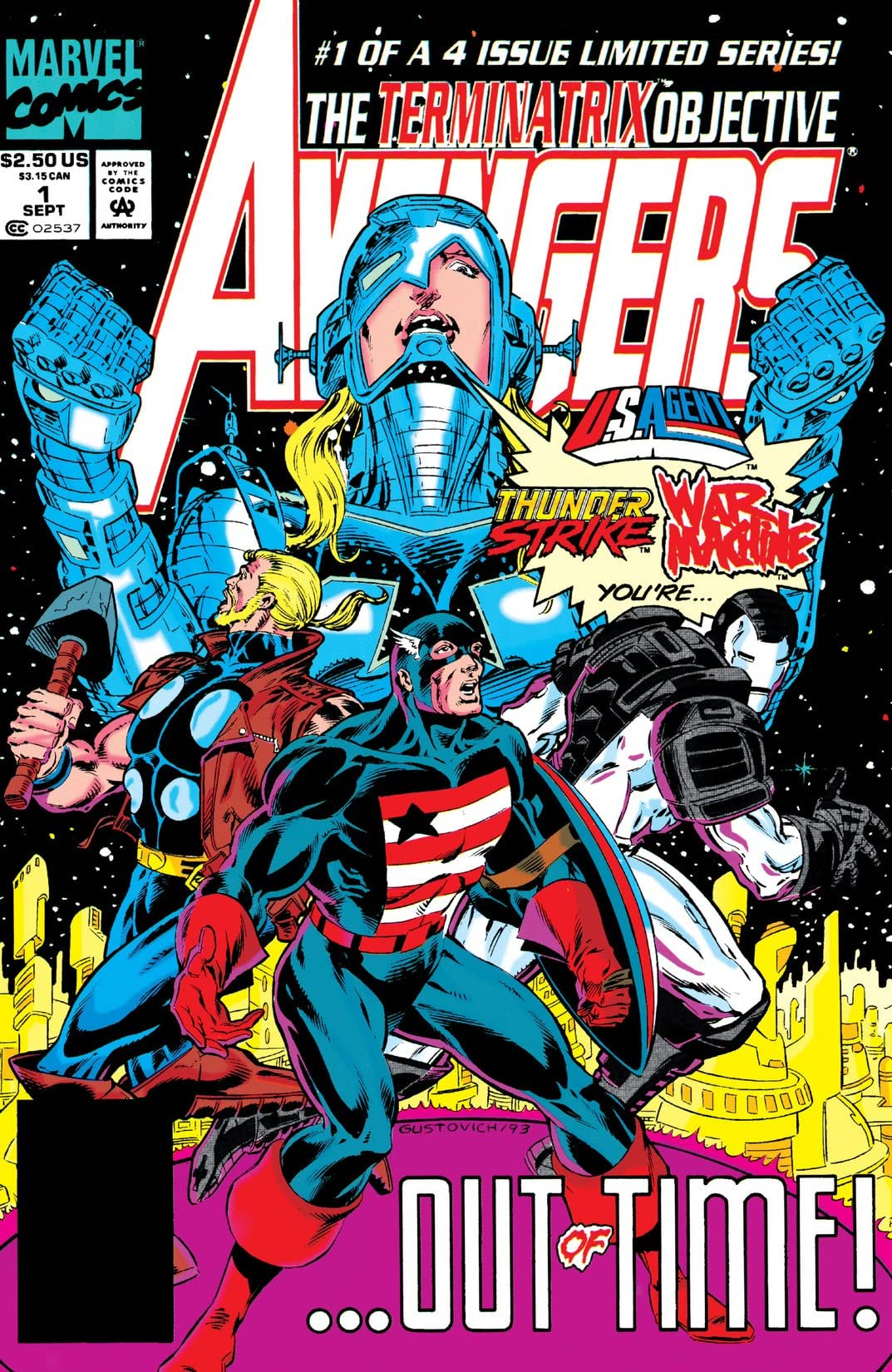 Avengers: The Terminatrix Objective (1993) #1 (of 4)