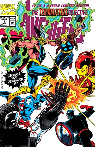 Avengers: The Terminatrix Objective (1993) No.2 (sur 4)