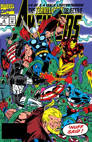 Avengers: The Terminatrix Objective (1993) No.4 (sur 4)