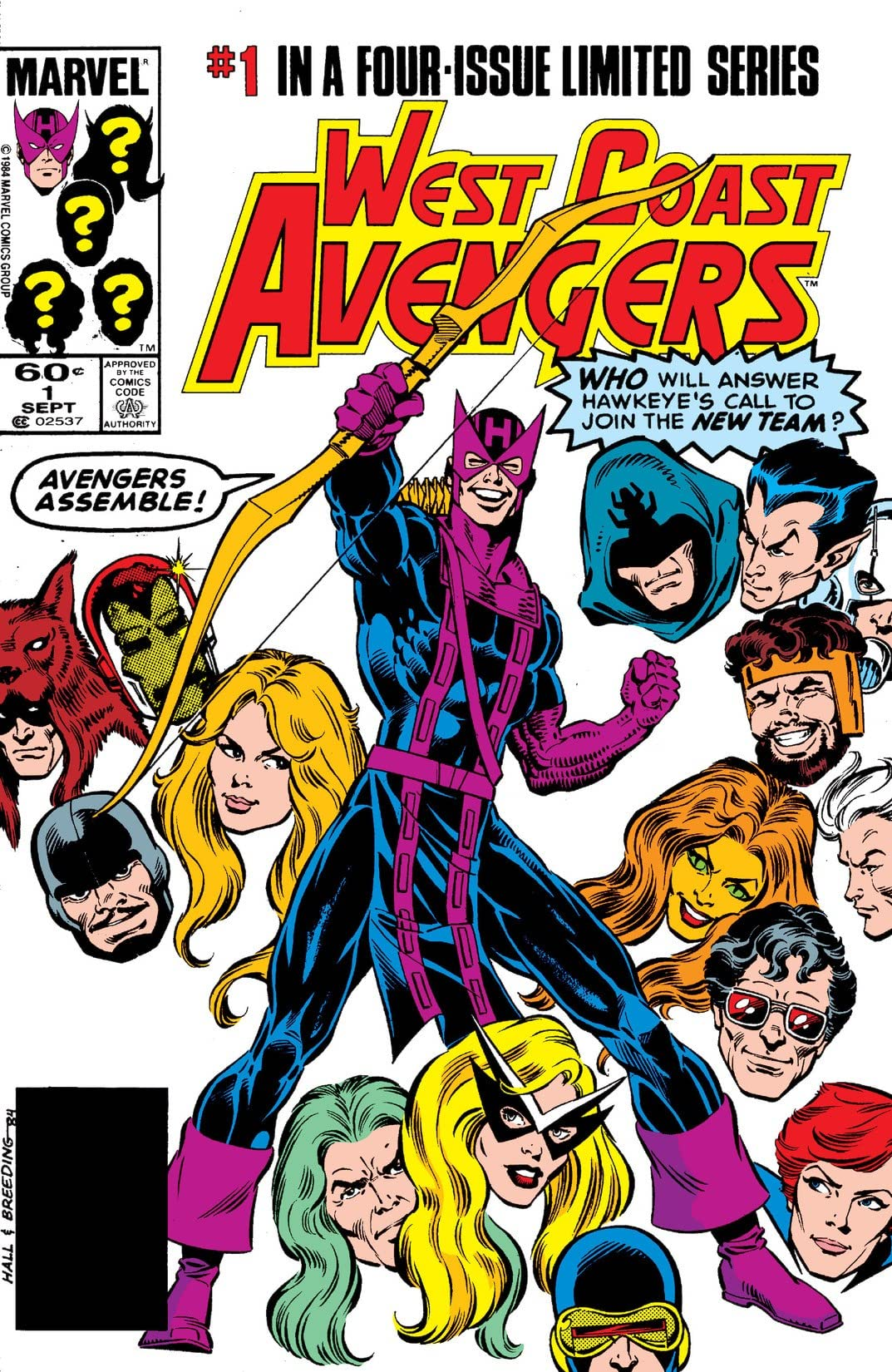 West Coast Avengers (1984) #1 (of 4)
