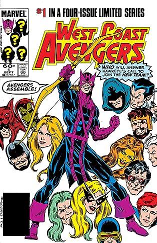 West Coast Avengers (1984) #1 (of 4)