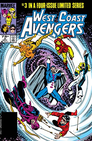 West Coast Avengers (1984) #3 (of 4)