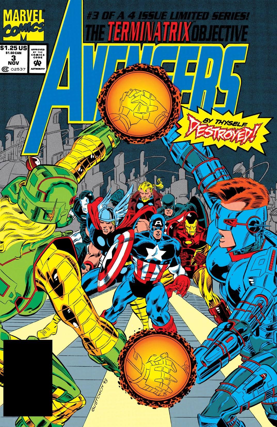 Avengers: The Terminatrix Objective (1993) #3 (of 4)