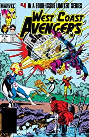 West Coast Avengers (1984) #4 (of 4)