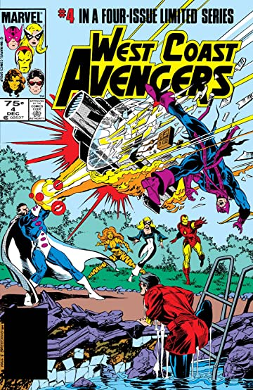 West Coast Avengers (1984) #4 (of 4)