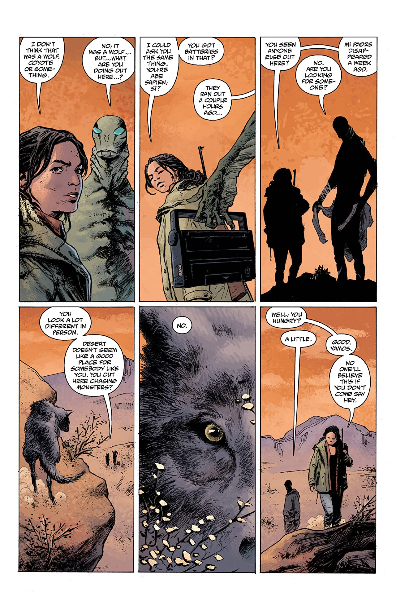 Abe Sapien Vol. 4: The Shape of Things to Come