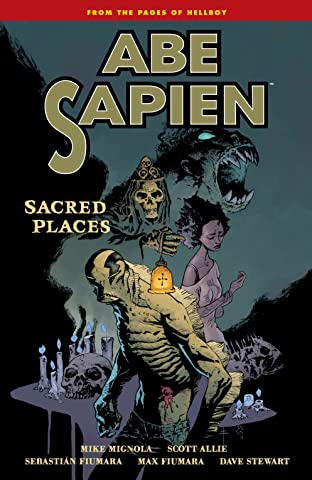 Abe Sapien Tome 5: Sacred Places