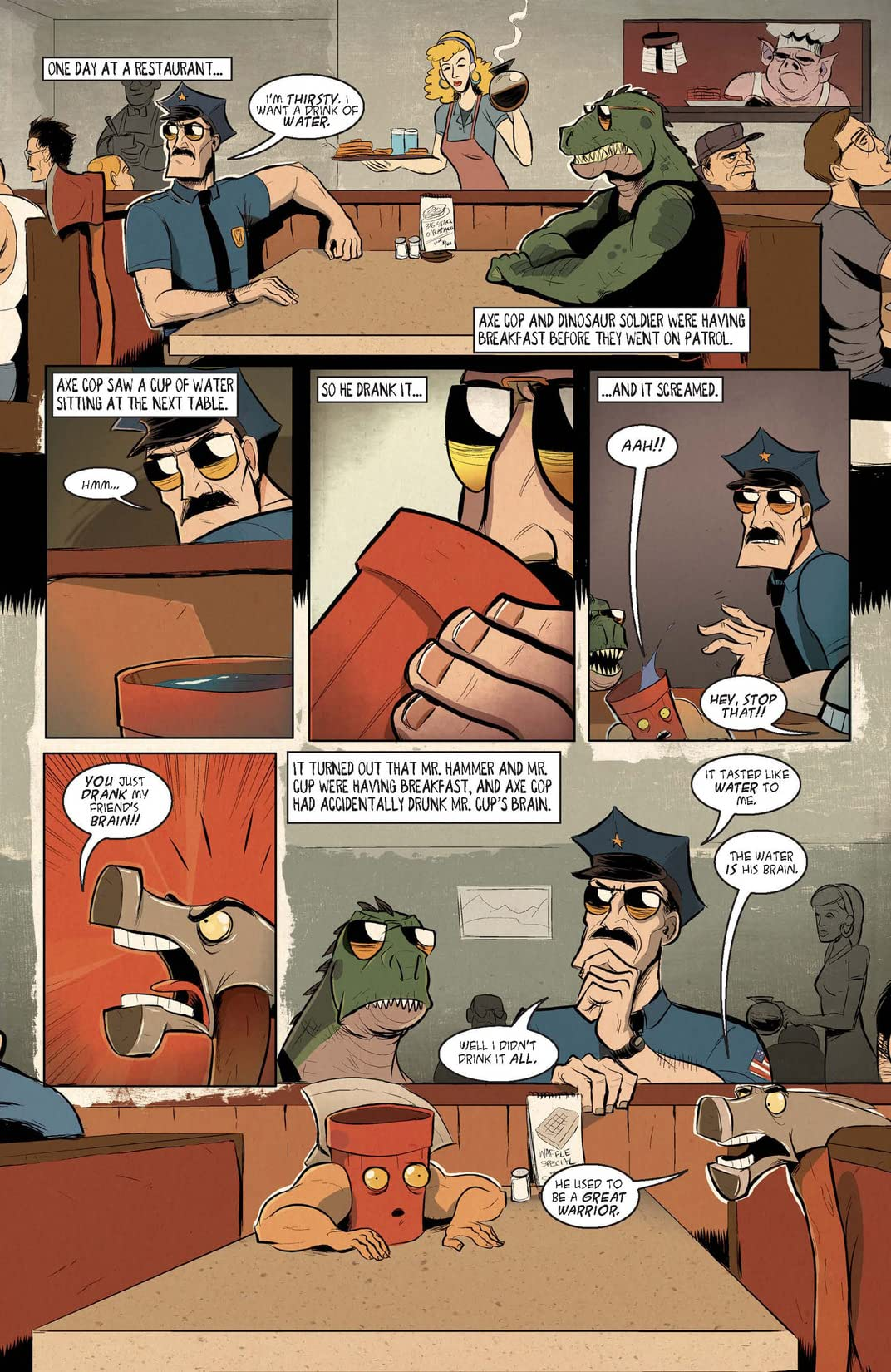 Axe Cop Vol. 2: Bad Guy Earth