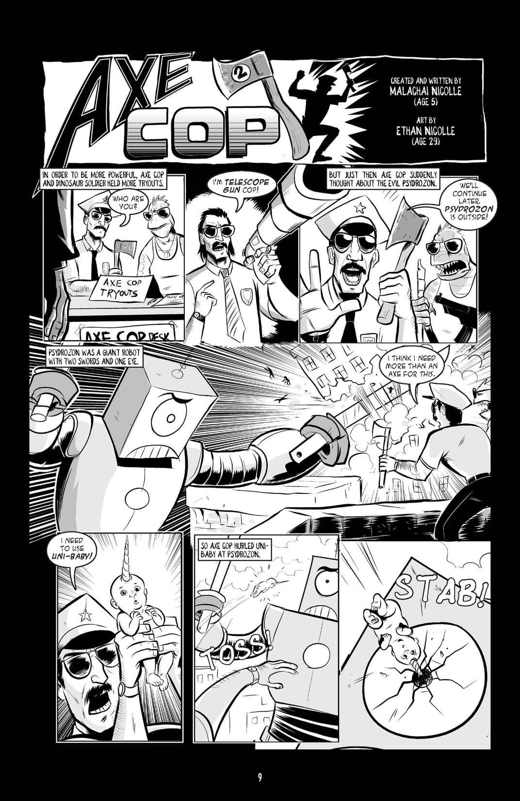 Axe Cop Vol. 1