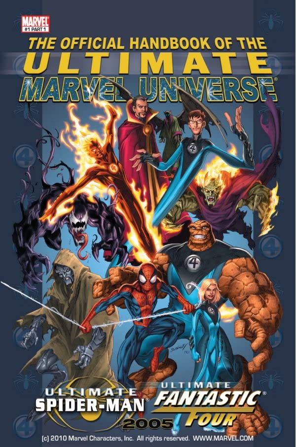 The Official Handbook of the Ultimate Marvel Universe: Vol. 1 #1: Ultimate Spider-Man, Ultimate Fantastic Four