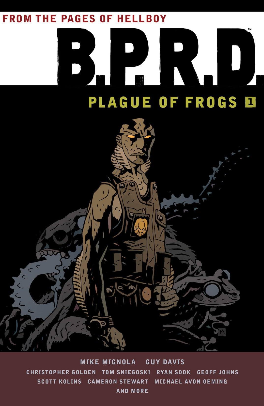 B.P.R.D.: Plague of Frogs Vol. 1
