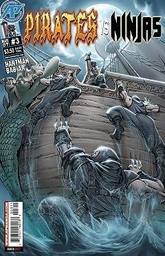 Pirates Vs. Ninjas #3 (of 4)