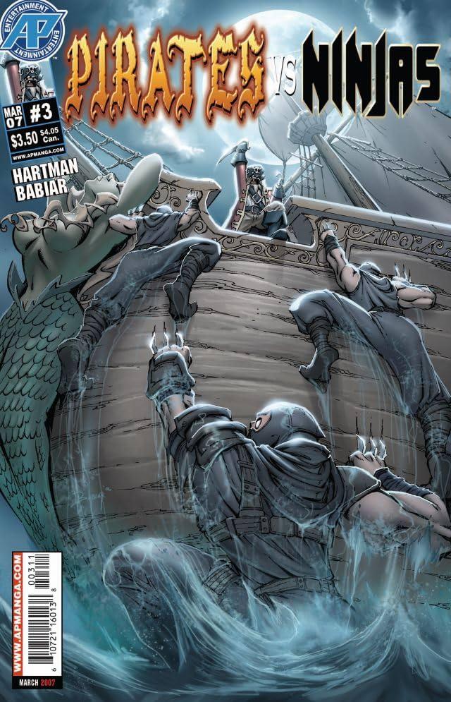 Pirates Vs. Ninjas #3