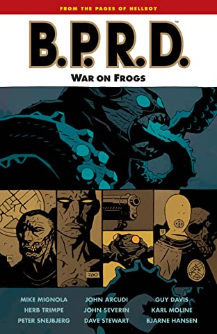 B.P.R.D. Tome 12: War on Frogs