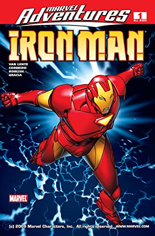 Marvel Adventures Iron Man (2007-2008) No.1