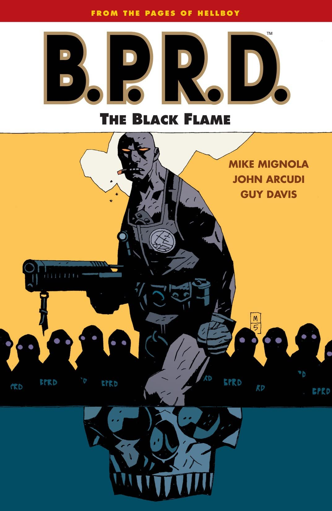 B.P.R.D. Tome 5: The Black Flame