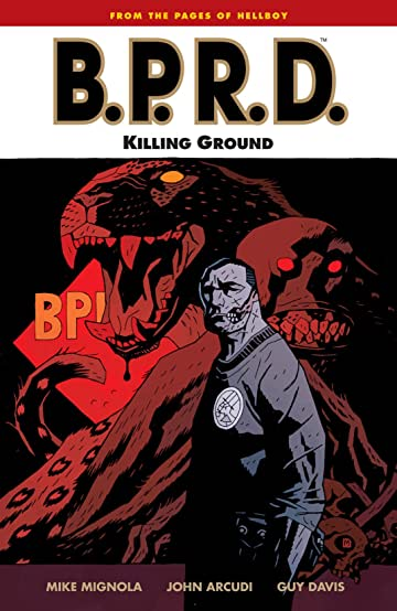 B.P.R.D. Tome 8: Killing Ground