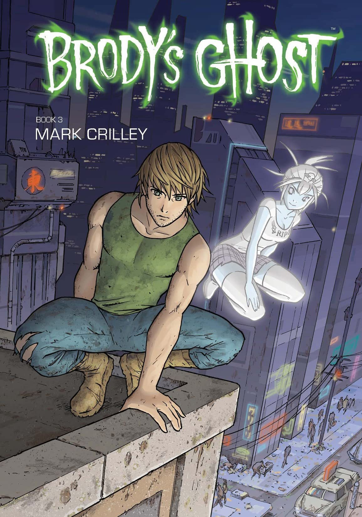 Brody's Ghost Tome 3