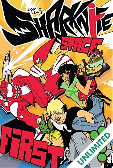 Sharknife Vol. 1: Stage First