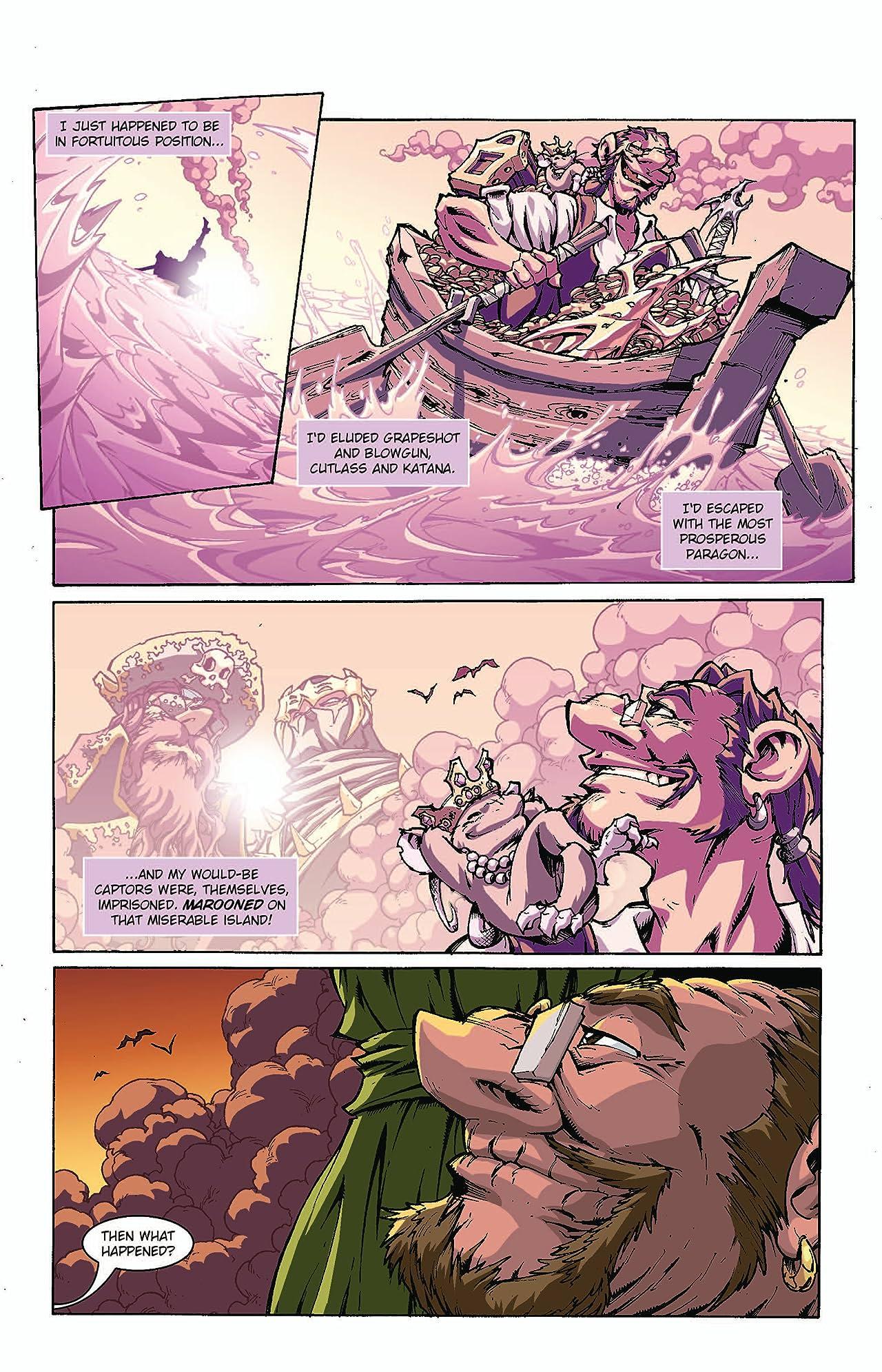 Pirates Vs. Ninjas II: Up the Ante #1 (of 8)