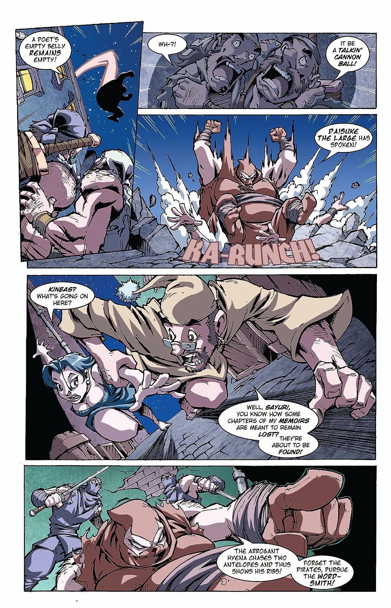 Pirates Vs. Ninjas II: Up the Ante #2 (of 8)