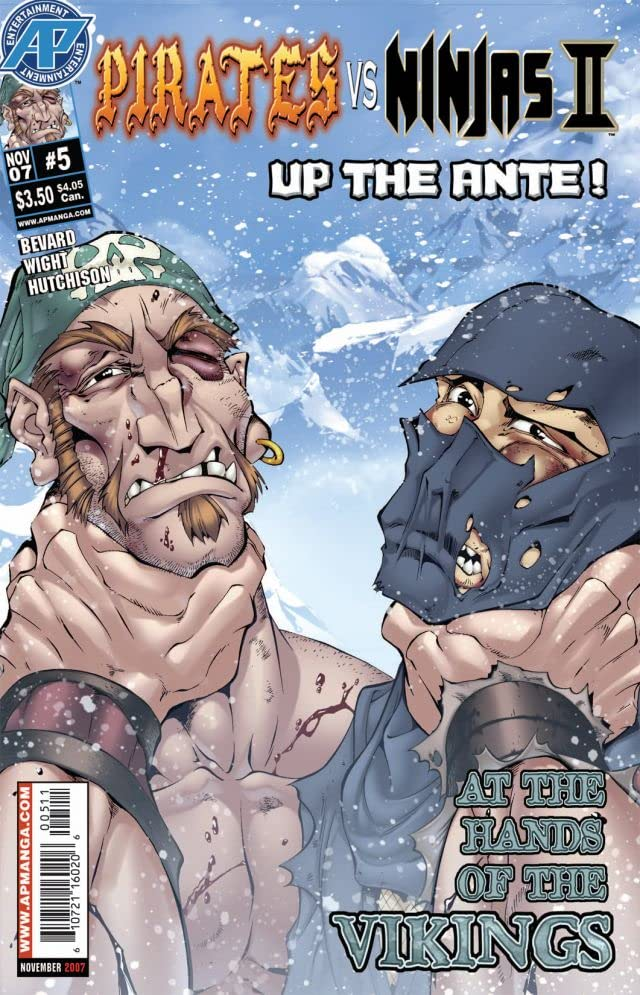 Pirates Vs. Ninjas II: Up the Ante #5 (of 8)