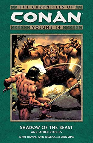Chronicles of Conan Vol. 14: Shadow of the Beast and Other Stories