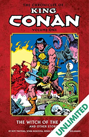 The Chronicles of King Conan Vol. 1: The Witch of the Mists and Other Stories