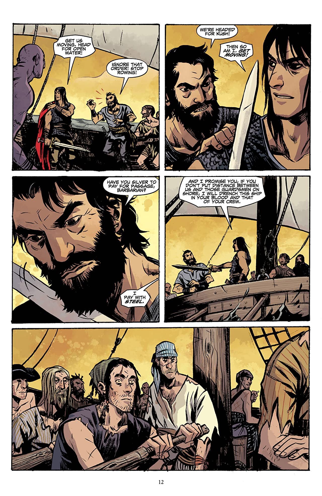 Conan Vol. 13: Queen of the Black Coast